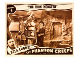 The Phantom Creeps, Chapter 6: the Iron Master, Bela Lugosi, 1939 Posters
