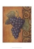 Scrolled Grapes II Prints by Norman Wyatt Jr.