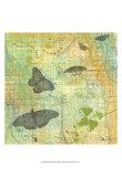 Butterflies I Plakat af Jan Weiss