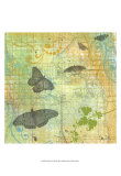 Butterflies I Print by Jan Weiss
