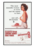 Butterfield 8, Elizabeth Taylor, 1960 Posters