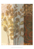 Tapestry with Leaves I Prints by Norman Wyatt Jr.