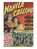 Manila Calling, from Left, Lloyd Nolan, Carole Landis, 1942 Photo