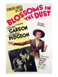 Blossoms in the Dust, Greer Garson, Walter Pidgeon, 1941 Posters