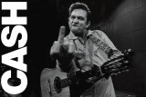 Johnny Cash- Folsomin vankila Poster