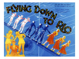 Flying Down to Rio, Fred Astaire, 1933 Print