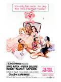 The Pink Panther, Peter Sellers, Robert Wagner, Capucine, David Niven, Claudia Cardinale, 1963 Prints