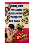 The Bribe, from Top, Robert Taylor, Ava Gardner, Charles Laughton, Vincent Price, John Hodiak, 1949 Photo
