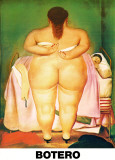 The Morning After Poster von Fernando Botero