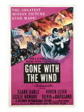 Gone with the Wind, Clark Gable, Vivien Leigh, 1939 Posters
