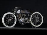 1914 Harley Davidson Board Track Racer Fotografisk trykk av S. Clay
