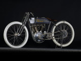 S. Clay - 1914 Harley Davidson Board Track Racer Fotografická reprodukce