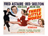 Three Little Words, Fred Astaire, Red Skelton, Vera-Ellen, Arlene Dahl, 1950 Posters