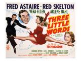 Three Little Words, Fred Astaire, Red Skelton, Vera-Ellen, Arlene Dahl, 1950 Fotografía