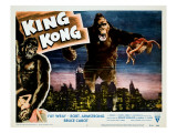 King Kong, Fay Wray, 1933 Posters