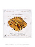 Pain au Chocolat Affiche par Ginny Joyner