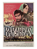 Barabbas, from Left, Anthony Quinn, Silvana Mangano, 1962 Posters
