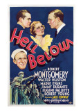 Hell Below, Robert Montgomery, Madge Evans, Walter Huston, Jimmy Durante, 1933 Posters
