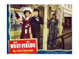My Little Chickadee, Mae West, W.C. Fields, George Moran, 1940 Poster