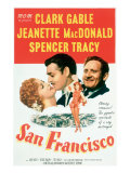 San Francisco, Jeanette Macdonald, Clark Gable, Spencer Tracy, 1936 Posters