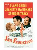 San Francisco, Jeanette Macdonald, Clark Gable, Spencer Tracy, 1936 Photo