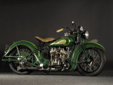 1937 Indian Sport Scout Photographic Print by S. Clay