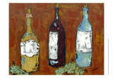 In Vino Veritas I Print by Deann Hebert