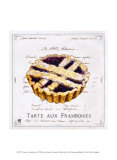 Tarte aux Framboises Posters par Ginny Joyner
