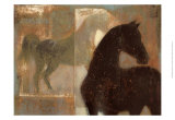 Weathered Equine I Posters by Norman Wyatt Jr.