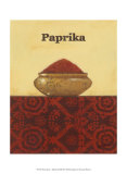 Exotic Spices: Paprika Prints by Norman Wyatt Jr.