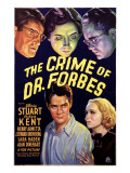 The Crime of Dr. Forbes, Robert Kent, Gloria Stuart, 1936 Posters