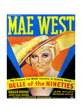 Belle of the Nineties, Mae West, 1934 Posters