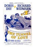 The Tunnel of Love, Gia Scala, Doris Day, Richard Widmark, 1958 Posters