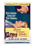 Lover Come Back, Rock Hudson, Doris Day, Tony Randall, Edie Adams, Jack Kruschen, 1961 Posters