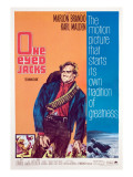 One-Eyed Jacks, Marlon Brando, 1961 Posters