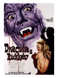 Dracula Has Risen from the Grave, Christopher Lee, Veronica Carlson, 1968 Posters
