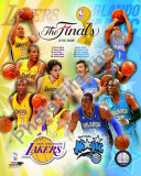 '09 NBA Finals Match Up - Lakers / Magic Photo