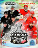 '09 St. Cup Match Up - Pens / Red Wings Photo
