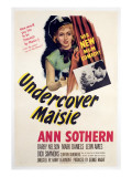 Undercover Maisie, Ann Sothern, 1947 Psters
