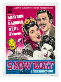 Show Boat, Joe E. Brown, Kathryn Grayson, Howard Keel, Ava Gardner, 1936 Photo