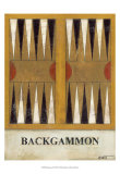 Backgammon Print by Norman Wyatt Jr.