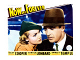 Now and Forever, Carole Lombard, Gary Cooper 1934 Posters