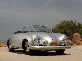 1958 Porsche Speedster 356 1600 Super Fotodruck von S. Clay
