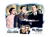 My Man Godfrey, William Powell, Alice Brady, Carole Lombard, 1936 Posters