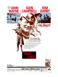 True Grit, Kim Darby, John Wayne, Glen Campbell, 1969 Posters