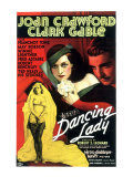 Dancing Lady, Joan Crawford, Clark Gable, 1933 Psters