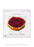 Tarte aux Cerises Prints by Ginny Joyner