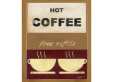 Hot Coffee II Posters by Norman Wyatt Jr.