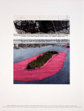 Surrounded Islands, Project for Biscane Bay, Greater Miami, Collage in Two Parts Art by  Christo