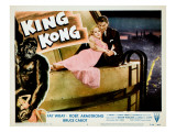 King Kong, Fay Wray, Bruce Cabot, 1933 Photo